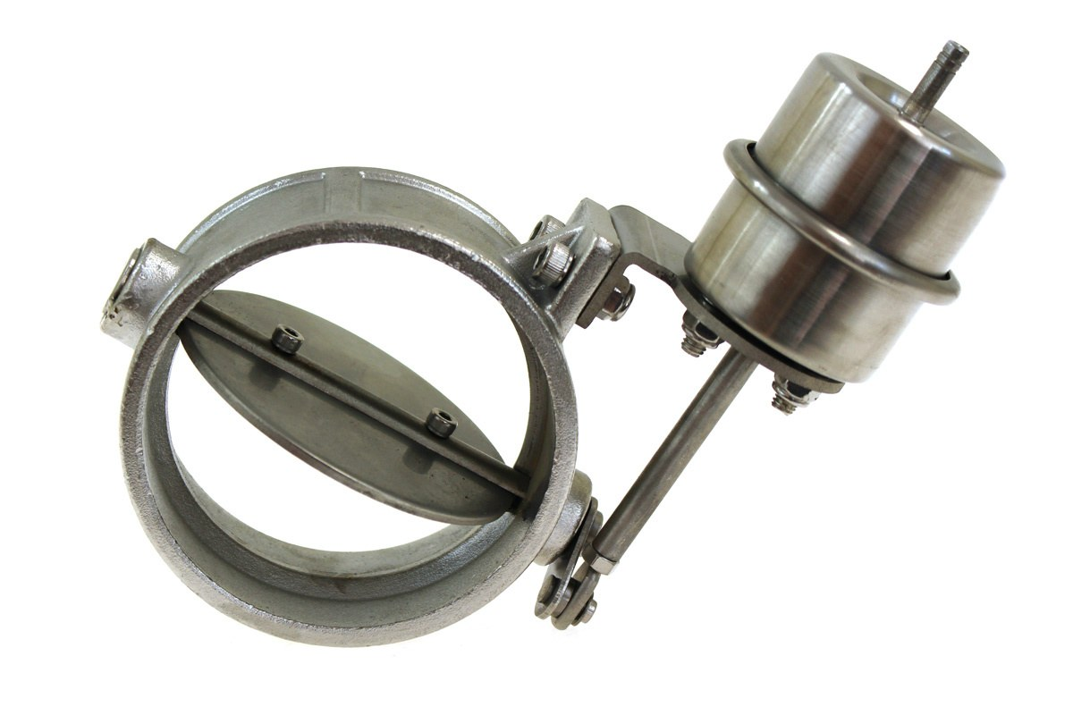 Przepustnica wydechu pneumatyczna 76mm Vacuum Open - GRUBYGARAGE - Sklep Tuningowy
